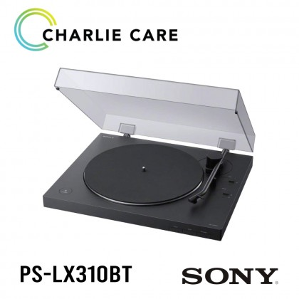 Sony Turntable PS-LX310BT Belt Drive Wireless Vinyl Record Player with Bluetooth and USB Output / PS LX310-BT Turn table with BLUETOOTH® connectivity