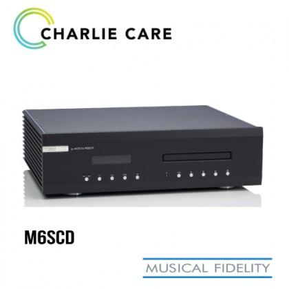 MUSICAL FIDELITY M6SCD CD PLAYER BLACK