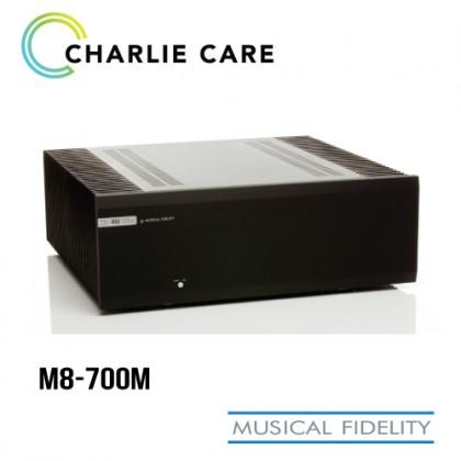 MUSICAL FIDELITY M8 - 700M POWER AMPLIFIER BLACK